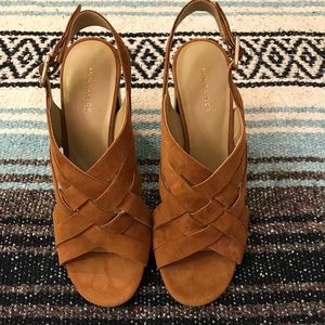 Ann Taylor heeled sandals